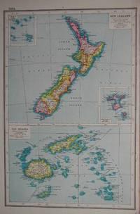New Zealand & Fiji Islands.