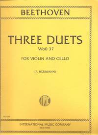Three Duets WoO 37 for Violin and Cello
