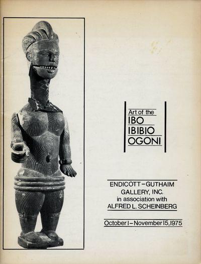 (New York): Endicott-Guthaim Gallery, Inc. in association with Alfred L. Scheinberg, 1975. First Edi...