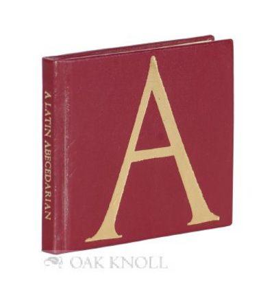 San Francisco: Juniper Von Phitzer Press, 1985. leather, title gilt-stamped on spine, letter gilt-st...