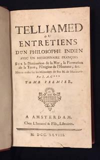 Telliamed, ou entretiens d'un philosophe indien avec un missionnaire françois sur la diminution...