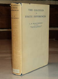THE CALCULUS OF FINITE DIFFERENCES.