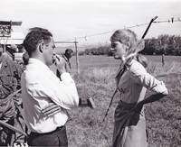 image of Cat Ballou (Original photograph of Jane Fonda and Elliot Silverstein on the set of the 1965 film)
