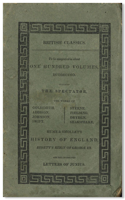 New York: Published by William Durell and Co., 1813. Fifteen volumes (of twenty-four). Octavo. Origi...