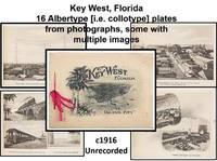 [Florida History] Souvenir of Key West, Florida: The Island City