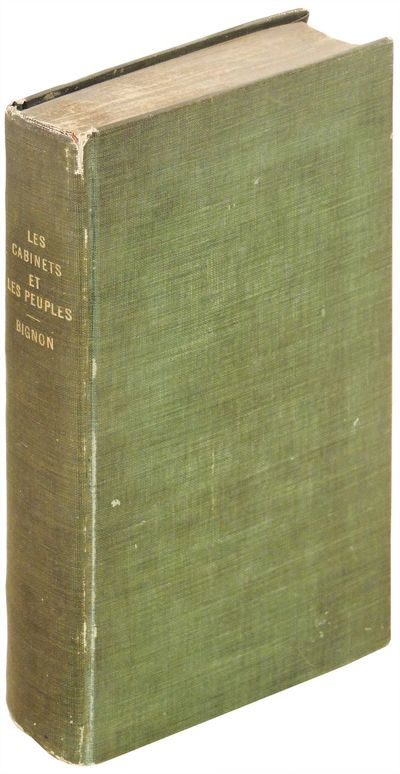 Paris: Chez Bechet Aine, 1822. Hardcover. Very Good. Hardcover. Very good in modern green cloth boar...