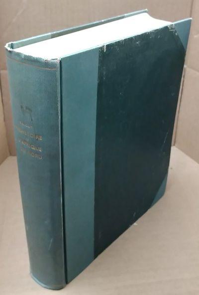 Paris: Arts et Metiers, 1955. G+ Condition. Wide 4to in dark green boards half-bound (spine and corn...