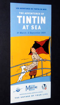 The Adventures of Tintin at Sea Exhibition Brochure, March 31 - September 5, 2004