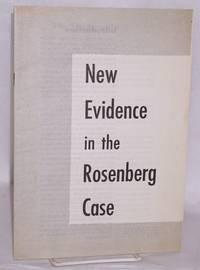 image of New evidence in the Rosenberg case