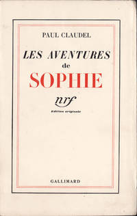 Les Aventures de Sophie by  Paul Claudel - Paperback - Ed. originale - 1937 - from Des livres autour (Julien Mannoni) and Biblio.com