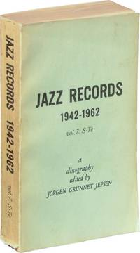 image of Jazz Records 1942-1962: Volume 7: S-Te (First Edition)