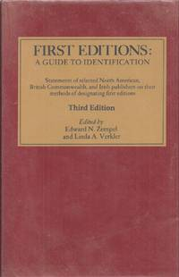 First Editions: A Guide to Identification Third Edition