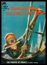 ASTOUNDING - Science Fiction - Volume 62, number 6  - February 1959 by Campbell, John W. (editor) (Murray Leinster; Calvin M. Knox; John A. Sentry; Peter Baily; Frank Herbert; Leonard Lockhard) - 1959
