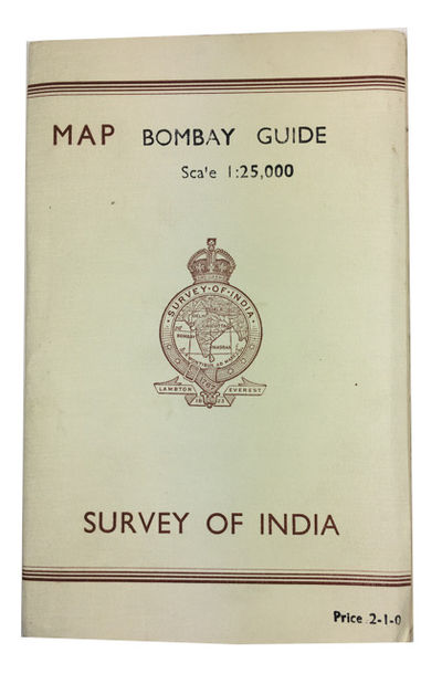 1944. Reprinted 1944. Paperback. Very Good. Large folding map in paper portfolio wrtapper. 22 cm. Im...