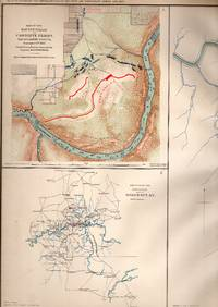 MAP: 3 Section Map, Including Military Reconnaissance Vicinity of Gauley Bridge, Department of...