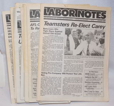 Detroit, MI: Labor Education & Research Project, 1997. Eleven issues of the newsletter, a complete r...