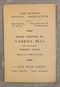 image of RECENT PAINTINGS BY VANESSA BELL. With a Foreword by Virginia Woolf