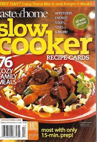 Taste of Home Slow Cooker Recipe Cards