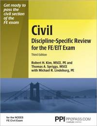 9781591261773 - Civil Discipline-Specific Review for the FE