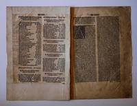 A Collection of Ten Leaves from The Workes of Geoffrey Chaucer, 2nd Collected Edition , 1532 ( 1542 ) by Chaucer, Geoffrey - 1542