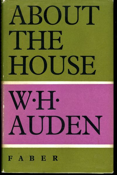 London: Faber & Faber, 1966. First Edition. Hardcover. Near Fine Condition/Very Good. Chipping to ja...