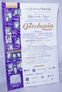 image of Help is on the Way IV: The Gershwin Concert [poster] a benefit for Coming Home Hospice, Continuum HIV Day Services, Native American AIDS Project etc.