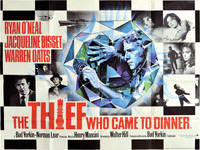 The Thief Who Came to Dinner (Original British poster for the 1973 film)