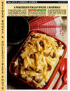 image of McCall's Cooking School Recipe Card: Pasta, Rice 9 - Baked  Ziti-And-Italian-Sausage Casserole (Replacement McCall's Recipage or  Recipe Card For 3-Ring Binders)
