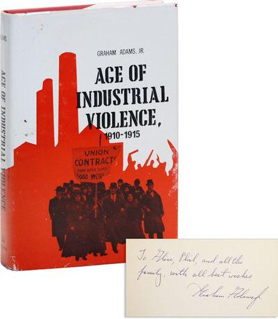 New York: Columbia University Press, . Second (1971) Printing. Octavo (24.5cm.); publisher's cloth i...