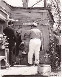 image of Mrs. Wiggs of the Cabbage Patch (Original photograph of W.C. Fields, Norman Taurog, and Kent Taylor on the set of the 1934 film)