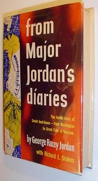 From Major Jordan's Diaries *Signed and Inscribed By Author to Radio Personality Mary Margaret McBride*