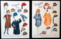 2 Uncut Advertising Paper Doll - Dorothy Keith Hats for Girls