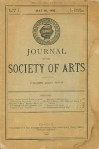 Journal of the Society of Arts, Friday, May 16, 1902, No. 2,582, Vol. L