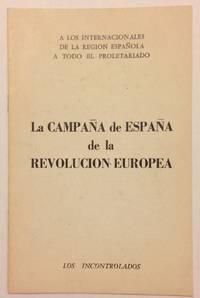 La campaña de España de la revolución Europea