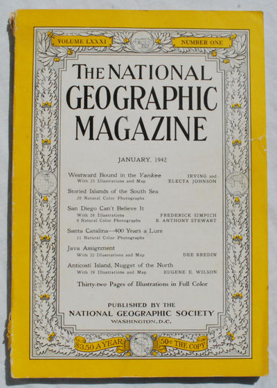 Washington, D.C.:: National Geographic Society,, 1942. Paperback. Very Good. In: The National Geogra...