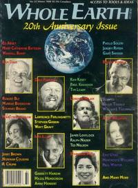 image of Whole Earth Review: 20th Anniversary Issue: No. 61; Winter 1988
