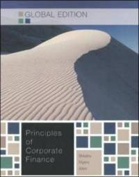 Principles of Corporate Finance by Richard A. Brealey - Paperback - 2010-05-06 - from Books Express and Biblio.com