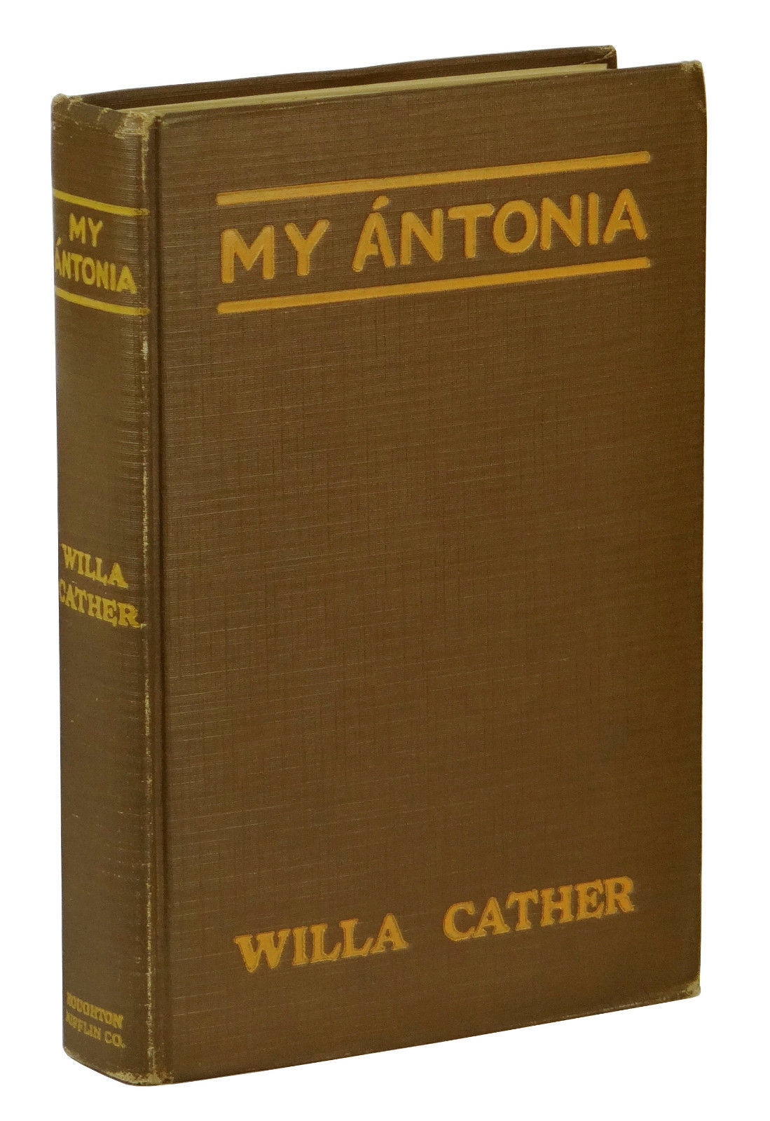 my antonia by willa cather a Various events will be taking place across the state and nation in celebration of the centennial publication of willa cather's my ántonia.