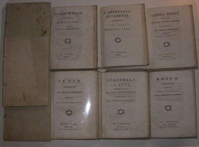 Venice, 1800. 1. Mercier, Louis Sébastien. Il Disertore. Commedia del Sig. Mercier. Tradotta dal Fr...