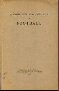 A Complete Bibliography of Football