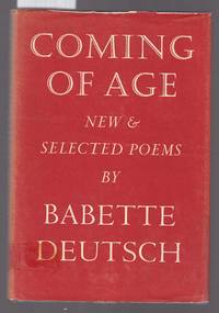 image of Coming of Age - New and Selected Poems