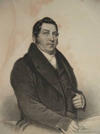 Revd A Jones, Bangor - portrait print