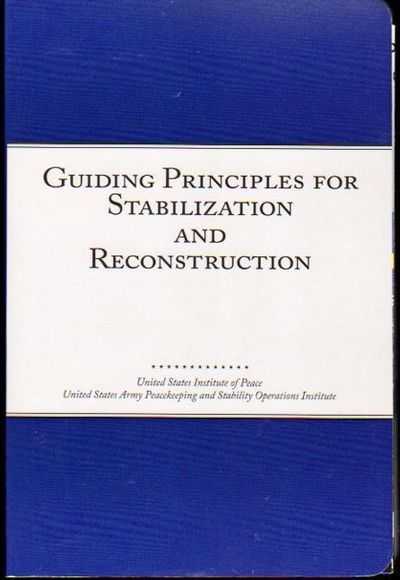 Washington DC: United States Institute of Peace, 2009. Paperback. Very good. Internally fine with cl...