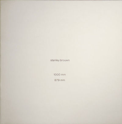 Amsterdam: Art & Project, 1978. First edition. Paperback. Near Fine. Nearly square printed stapled w...