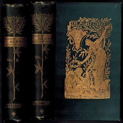 London & New York: Lawrence & Bullen / Chas. Scribner's Sons, 1896. The Muses Library series, two vo...