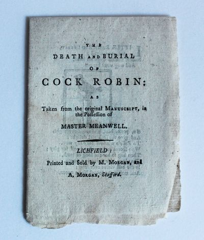 The Death and Burial of Cock Robin: