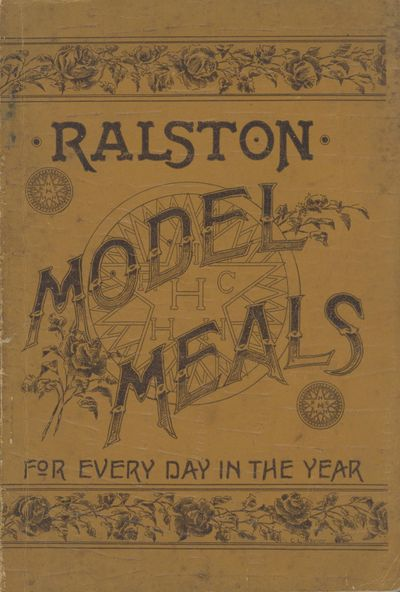 Washington, D. C.: Ralston Company, 1895. Octavo (24 x 15.5 cm.), 46, pages. Membership application ...