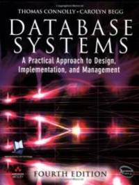 image of Database Systems: A Practical Approach to Design, Implementation and Management (4th Edition)