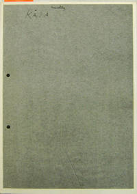 Bein I Koldu Ofni / Bone In A Cold Oven (Inscribed Copy)