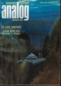 """image of ANALOG Science Fiction Science Fact: April, Apr. 1967 (""""The Time-Machined Saga"""")"""